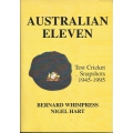Australian eleven : test cricket snapshots 1945-1995 SIGNED