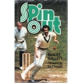 Spin Out by Ashley Mallett SIGNED