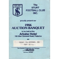 Sturt FC: 1986 Auction Banquet