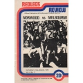 Norwood FC: Redlegs Review Vol 4 #1 NORWOOD v MELBOURNE