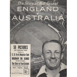 England v Australia 1948 Booklet SIGNED BY DON BRADMAN