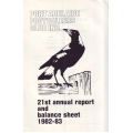 Port Adelaide FC 21st Annual Report 1982