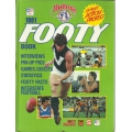 Huttons 1981 Footy Book
