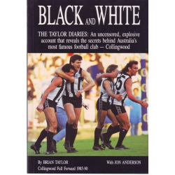 Black and White by Brian Taylor SIGNED BY TAYLOR