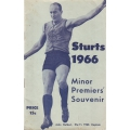 Sturt Football Club: 1966 Minor Premiers' Souvenir
