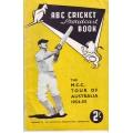ABC Tour Guide 1954-55