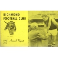 Richmond Football Club 87 Annual Report 1971