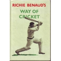 The Way Of Cricket by Richie Benaud SIGNED