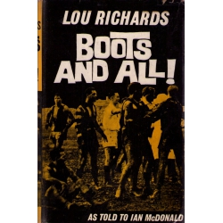 Boots & All by Lou Richards SIGNED