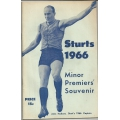 Sturt 1966 Minor Premiers' Souvenir