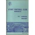 STURT FC: 1974 Annual Report