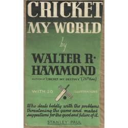 Cricket My World: Walter Hammond