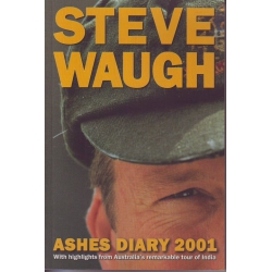 Ashes Diary 2001 by Steve Waugh SIGNED